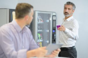 Vending Machines Can Help Promote Workplace Productivity