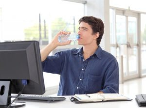 Drinking Water at Work